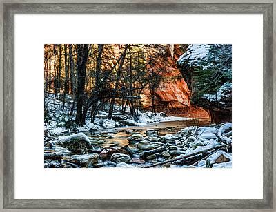 West Fork 07-051 Framed Print by Scott McAllister