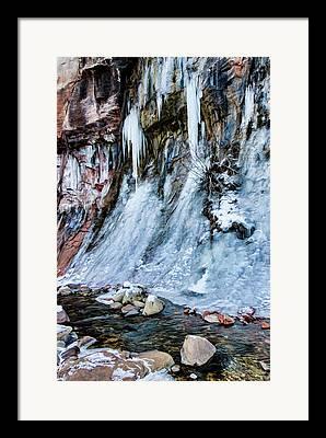 West Fork Digital Art Framed Prints
