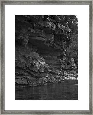 West-fork White River Framed Print by Curtis J Neeley Jr