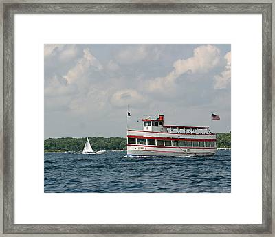 West Lake Queen Ll Framed Print
