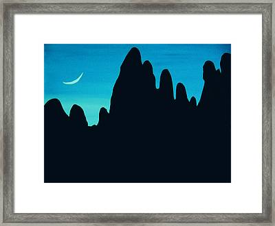 West Framed Print by Linda Powell