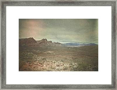 Framed Print featuring the photograph West by Mark Ross