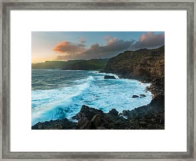West Maui Sunrise Framed Print by Thorsten Scheuermann