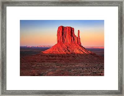 West Mitten Framed Print by Johnny Adolphson