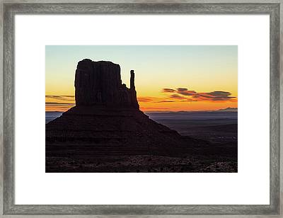 West Mitten Sunrise Framed Print by James Marvin Phelps