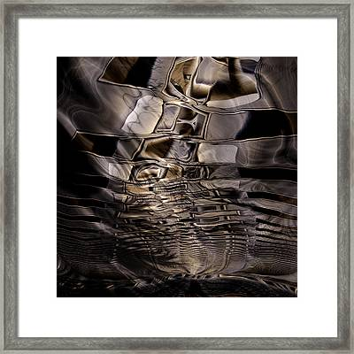 West Of Lawton Framed Print by Vic Eberly