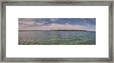 West Okoboji Lake  Framed Print by Shane Mossman