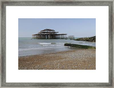 West Pier Framed Print