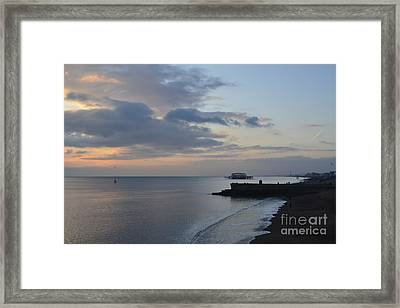 West Pier Views Framed Print