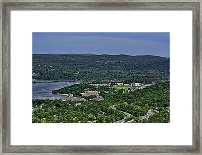 West Point From Storm King Overlook Framed Print