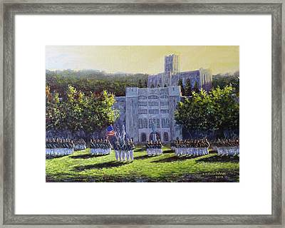 West Point Parade Framed Print