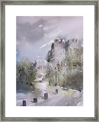 West Point Thayer Road Framed Print