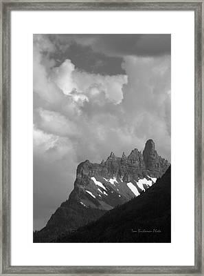 West Porcupine Ridge Framed Print