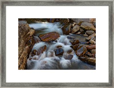 West Prong Little Pigeon River Framed Print