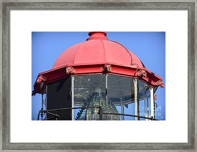 West Quoddy Lens Framed Print by Alana Ranney