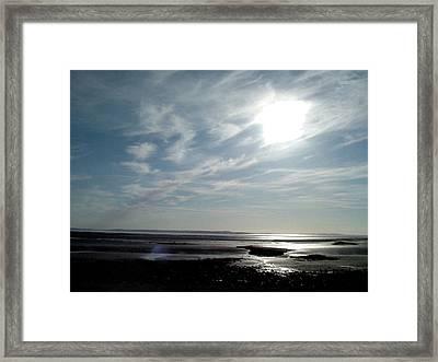 West Shore Framed Print by John Bradburn