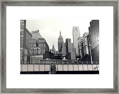West Side Highway Framed Print