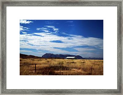 West Texas #1 Framed Print