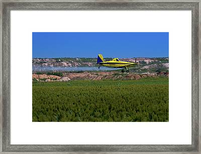 West Texas Airforce Framed Print