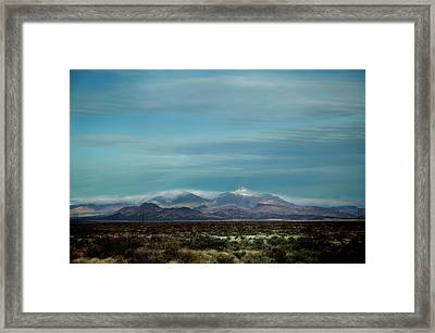 West Texas Skyline #1 Framed Print