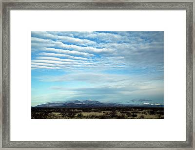 West Texas Skyline #2 Framed Print