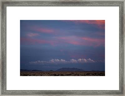 West Texas Sunset #2 Framed Print