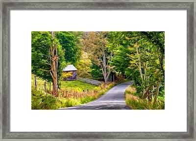 West Virginia Adventure - Paint Framed Print by Steve Harrington