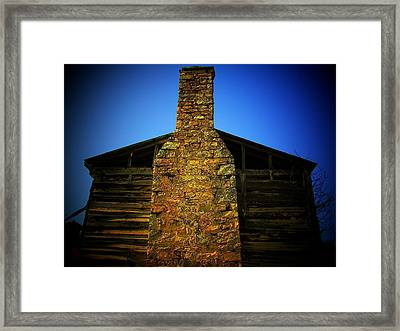 West Virginia Chimney Framed Print by Michael L Kimble