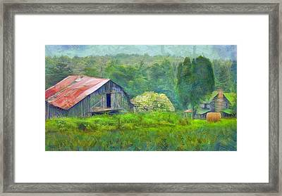 West Virginia Homestead Framed Print