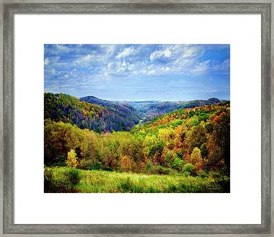 West Virginia Framed Print