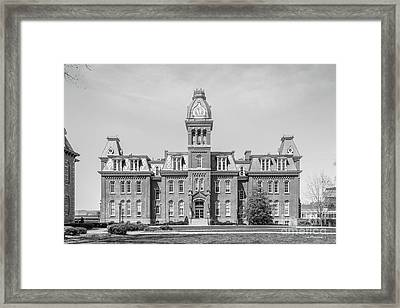 West Virginia University Woodburn Hall Framed Print