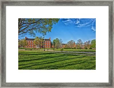 West Virginia Wesleyan College Framed Print by Mountain Dreams
