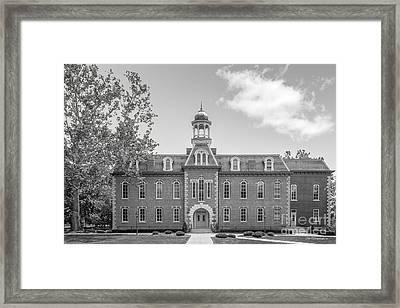 West Viriginia University Martin Hall Framed Print