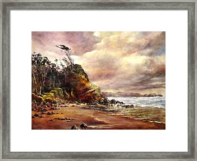 West Wind Framed Print