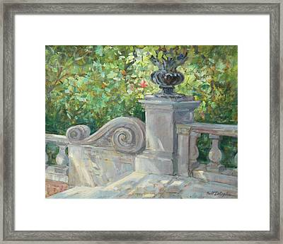 Westbury Gardens Framed Print