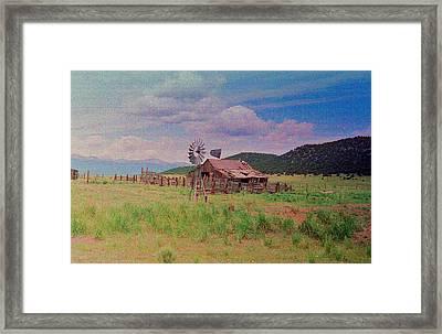 Westcliff Colorado Framed Print by Patricia Greer