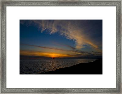 Westcoast Sunset Framed Print by Naman Imagery