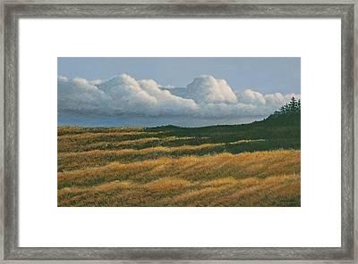 Westerly Framed Print