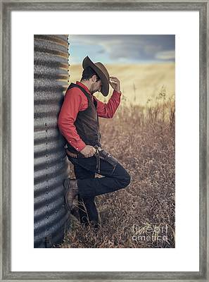 Western Dreams Framed Print