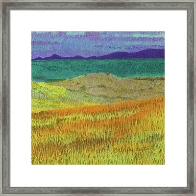 Western Edge Prairie Dream Framed Print