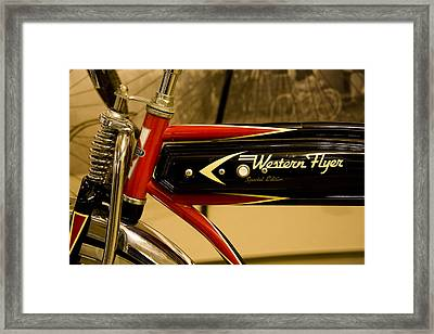 Western Flyer Framed Print by Michael Friedman