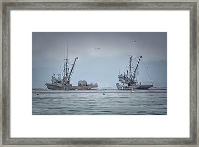 Framed Print featuring the photograph Western Gambler And Marinet by Randy Hall