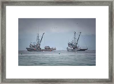 Western Gambler And Marinet Framed Print by Randy Hall
