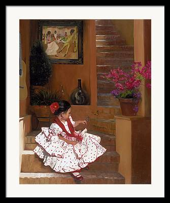 Mexican Culture Framed Prints