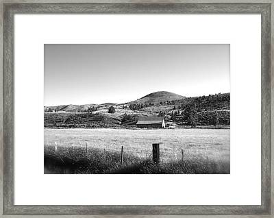 Western Landscape Framed Print by Jennifer Addington