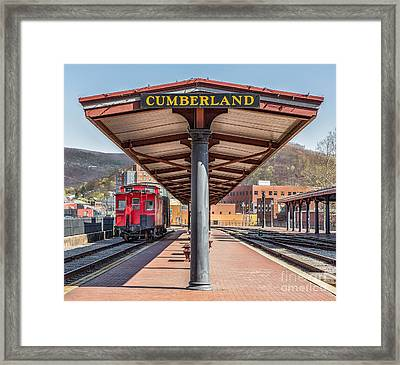 Western Maryland Railway Station Framed Print by Jerry Fornarotto