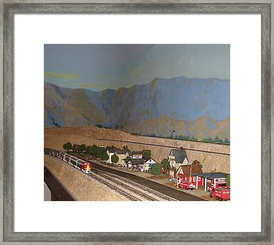 Western Pacific Approaches  Framed Print