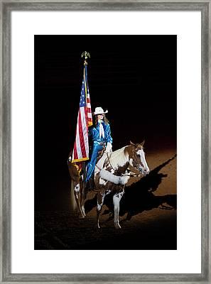 Western Salute Framed Print by Stephen Stookey