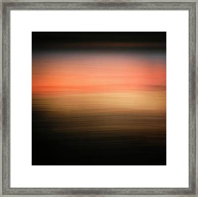 Framed Print featuring the photograph Western Sun by Marilyn Hunt