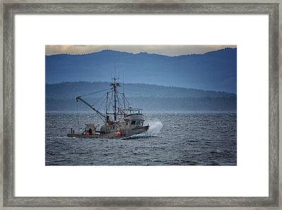 Framed Print featuring the photograph Western Sunrise by Randy Hall